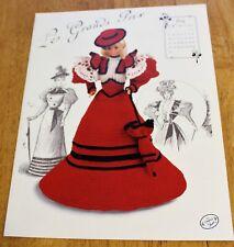 Annie's Attic: Gibson Girls - Gay Nineties Fashion Doll Crochet #7707 Miss July