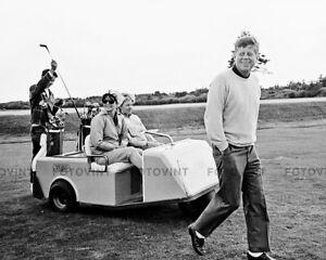 JOHN & JACKIE KENNEDY Photo Picture JFK JACQUELINE President Golfing Print 8x10