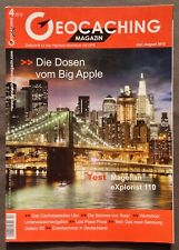 GEOCACHING MAGAZIN + 04 / 2012, New York, Ulm, Prora, Texel, Magellan, usw.