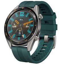 Huawei Watch GT Dark Green Fluoroelastormer Strap Smartwatch Fitnessarmband