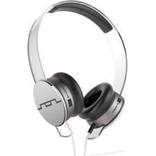SOL Republic Tracks HD V10 On-Ear Headphones & Mic - White