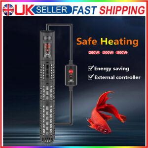 200-500W LED Digital Submersible Aquarium Water Heater Fish Tank Thermostat Rod