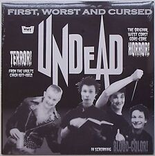 Undead (San Francisco) - First, Worst & Cursed LP Lewd Verbal Abuse Society Dog