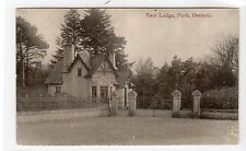 EAST LODGE, PARK, DEESIDE: Aberdeenshire postcard (C10611)