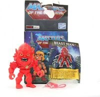 Masters of the Universe MOTU Action Vinyls BEAST MAN The Loyal Subjects Wave 2