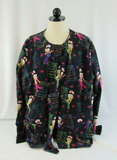 Medical Scrubs 2 Piece Betty Boop Unisex Tops Size Large