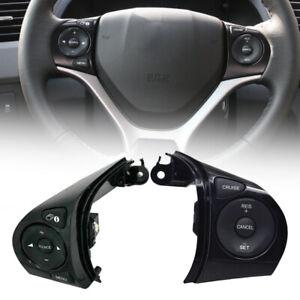1Paar Lenkrad Cruise Schalter Taste passt für Honda Civic 1.8L 2012
