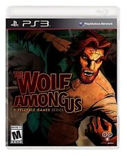 Sony PS3 The Wolf Among Us Video Game interactive adventure story bigby wolf