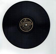 78T PIERROT Orchestre Jazz Musette Vinyle Phonographe IGNACE - COLUMBIA DF 2132