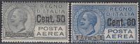 Italy Regno - 1927 Posta Aerea (Air Mail) n.8-9 cv 300$  MNH**