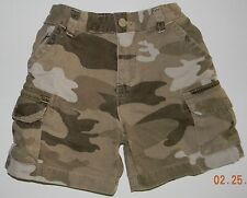 CHILDRENS PLACE boys Camouflage Denim CARGO SHORTS* 18 months