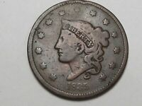 1835 US Coronet Head Large Cent Coin.  #18
