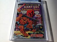 GIANT SIZE FANTASTIC FOUR 2 CGC 9.0 THE WATCHER COVER AND APP MARVEL COMICS B