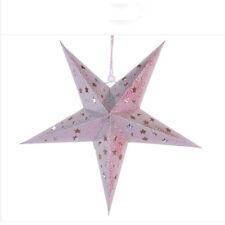 Star Light Xmas Tree Ornament Christmas Decro Hanging Star Stars Lantern