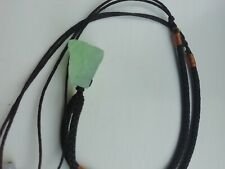 Fluorite pendant, used but in good condition, with cord 15 inch