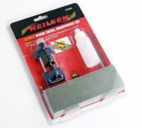 NEILSEN Honing Guide Kit Sharpens wood chisels & plane iron blades+FREE HACKSAW