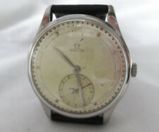 Vintage Omega CAL 30T2 Jumbo 37.5mm Watch 1947 GOOD CONDITION
