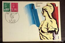 FRANCE MARIANNE DE BEQUET Carte Postale Maximum Yt1981c