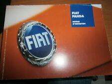 Fiat PANDA 2004/2005 : notice d'utilisation pochette