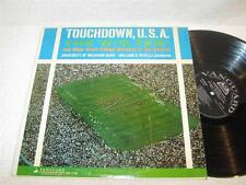 THE 'BIG TEN' Touchdown USA Michigan Band '60's VANGUARD ORIG COLLEGE MARCHES LP