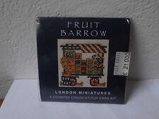 "Punto croce London Miniatures ""Textile Heritage Collection"" cross stich card kit"