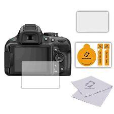 3 X Ultra Transparente Protector De Pantalla Lcd Film Protector De Para Nikon D5200
