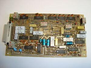 EZ100 Zusatzgerät, Baugruppe Aufbereitung RFT / Funkwerk Köpenick