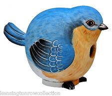 BIRD HOUSES - BLUEBIRD BIRD HOUSE - BLUE BIRD BIRDHOUSE - OUTDOOR DECOR - GARDEN