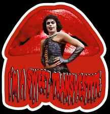 """70's Cult Classic The Rocky Horror Picture Show """"Sweet Transvestite"""" custom tee"""