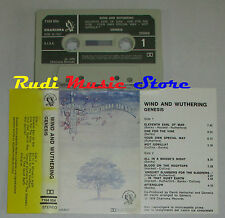 MC GENESIS Wind and wuthering 1976 1 stampa italy FAMOUS CHARISMA cd lp dvd vhs