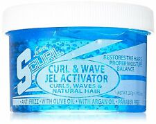 Luster's Scurl Curl & Wave Gel Activator for Curls Waves and Natural Hair 10.5oz