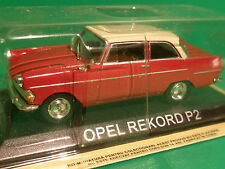 Modelcar 1:43  Legendary Cars   OPEL REKORD P2