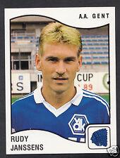 Panini Sticker - Belgium Football 1990 - No 141 - A.A.Gent - Rudy Janssens