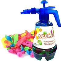 SourceDIY 500 Water Balloon Bombs Easy Filling with Portable Pumping Station ...