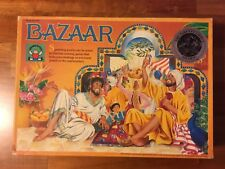 1987 Discovery Toys BAZAAR Marketplace Strategy Board Game Complete Sid Sackson.