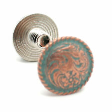 "Chicago Screws Copper Patina Plated 1/4"" 10 Pack 3305-90"