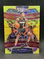 2019 Panini Select Gold Wave Kz Okpala SSP 🔥🔥🔥