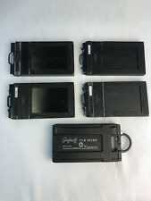 Film Holder Lot (5) Grafmatic, Graflex, Fidelity