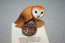 Hagen Renaker Barn Owl Figurine Miniature Gift Collect New Free Shipping 03196