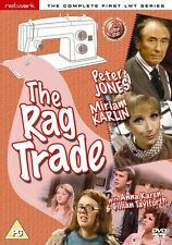 THE RAG TRADE the complete first series 1. Peter Jones. 2 discs. New sealed DVD.