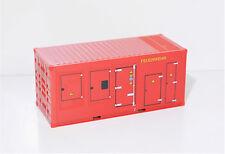 1:87 EM3285 Herpa 20ft Feuerwehr Generator Container  für Umbau Eigenbau