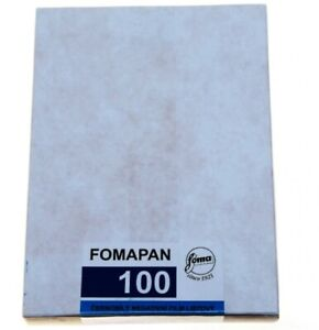 *NEW* Fomapan 100 4x5 sheet film (50 sheets)