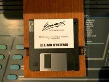 Emu Emax Sound Library Disk ZD718 Harp & Karplus Strings