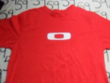 Large- Red Oakley Brand T- Shirt