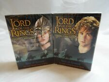 LORD OF THE RINGS TCG SIEGE OF GONDOR SEALED MERRY AND PIPPIN STARTER DECKS