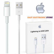 CAVO DATI USB per IPHONE 5 5S 6 6S Plus 7 Apple CARICA  IPAD4  Foxconn originale