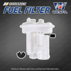 Wesfil In Tank Fuel Filter for Subaru Liberty BR BM Outback Gen5 2.5L 4Cyl