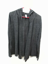 Coca-Cola  Soft Light Eco-Jersey Wrap Jacket Charcoal Gray Large- BRAND NEW