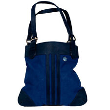 Womens Adidas Originals Shopper Carry Handles Essentials Tote Bag Navy/Black