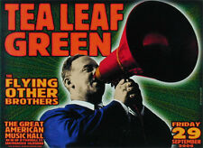 Tea Leaf Green POSTER The Flying Other Brothers Artist Chris Shaw